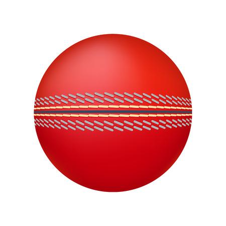 cricket ball: Cricket ball illustration. Cricket ball on white background. Cricket ball vector. Ball illustration. Cricket ball vector Illustration