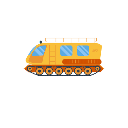 off road vehicle: Cross country vechicle vector illustration . Isolated atv truck. Off Road Vehicle Outdoor Utility Atv illustration