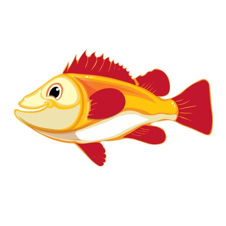 smyle: Cute clown fish cartoon