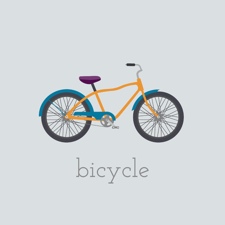 circuit brake: Vector bicycle  illustration.  bicycle isolated on white background. Bike vector. bicycle bike illustration. Bike isolated vector Illustration