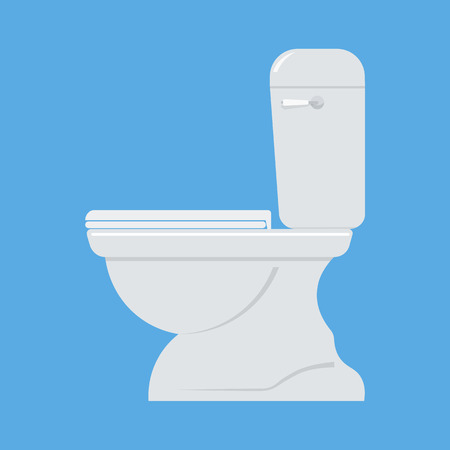 septic: Toilet bowl vector illustration. tylet bowl isolated vector