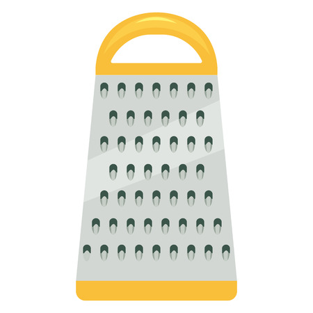 grater: kithen grater vector illustration. grater isolated vector