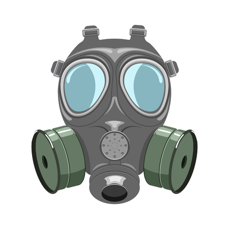 isoladed: Gas mask vector illustration isoladed on a white background