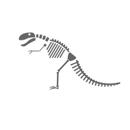 Dinosaur skelet.