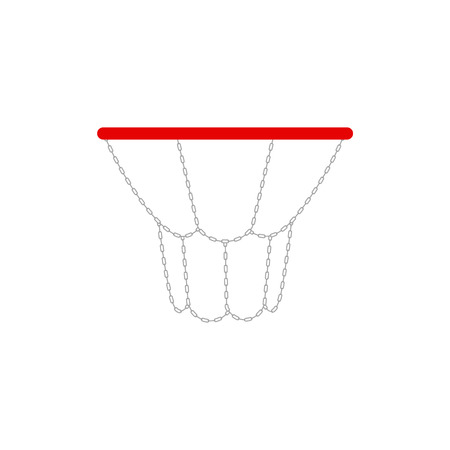 rims: vector illustration of a basketball rims. Illustration
