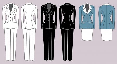 businesswoman skirt: Women Illustration