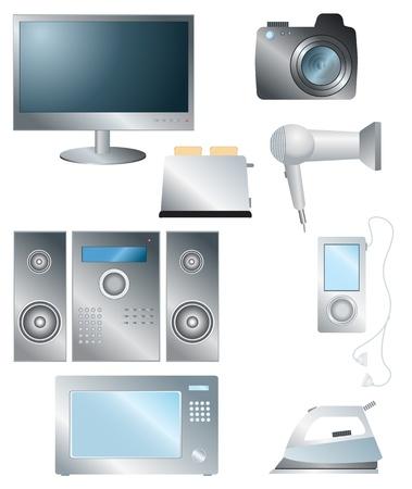 electronic elements: insieme di elementi di elettronica per la casa