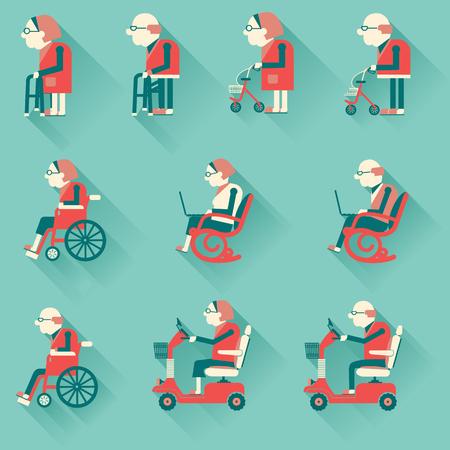 crippled: Medical hospital disabled equipment.
