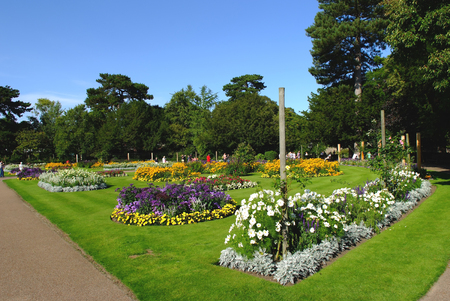 Abbey Gardens, Bury St. Edmunds, Suffolk