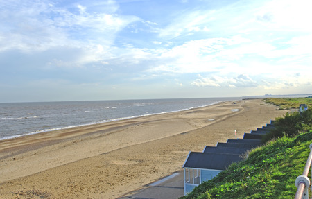 Southwold, South Beach, Suffolk. Stock Photo