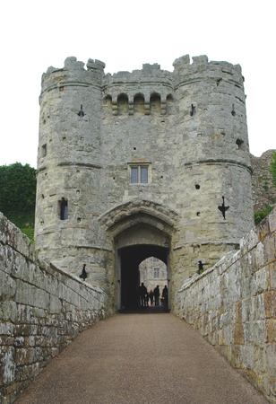 Carisbrooke Castle Entrance, Isle  of White.
