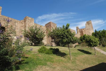 Malaga Castle Walls, Spain