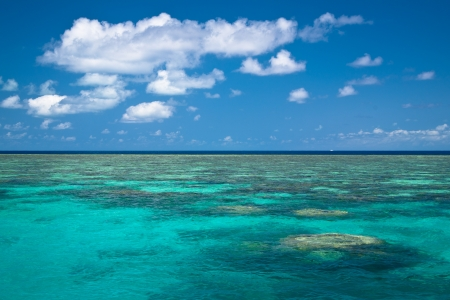 Great barrier reef Stock Photo - 13702369