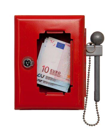 emergency box with money