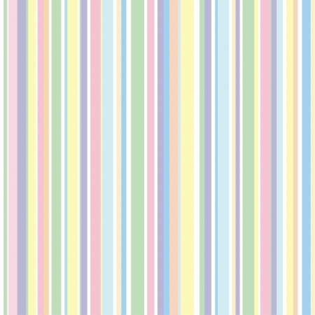 green lines: Strip pattern, pastel colors.