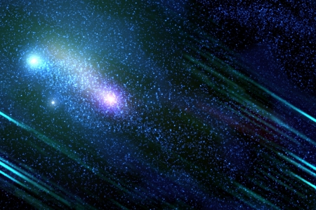 cosmology: Abstract background of deep outer space