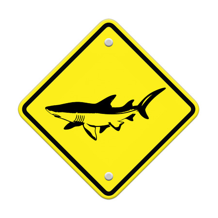 Shark sighting sign, Beach Closed photo