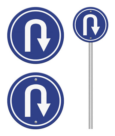 uturn: U-Turn Roadsign, part of a series.