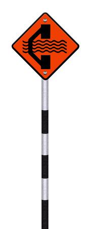 roadwork: Detour traffic sign