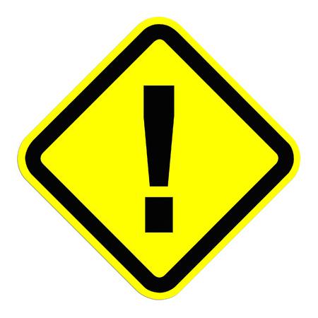 hazardous imperil: Warning Sign