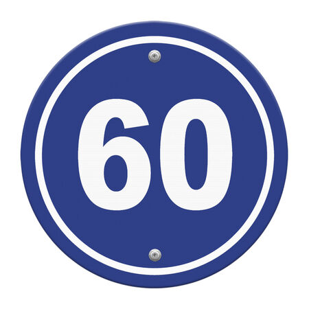 road sign indicating a speed limit photo