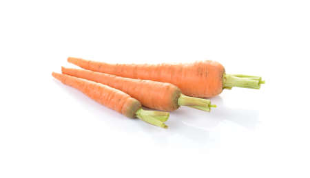 carot: carrots isolated on white background Stock Photo