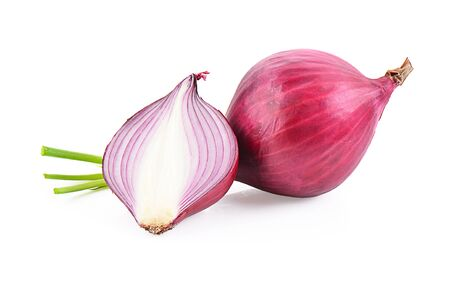 onion isolated photography on a white background