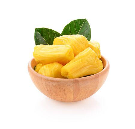 jackfruit isolated on a white background, photography Stock Photo