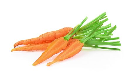 carrot isolated on a white background, photography Stock Photo