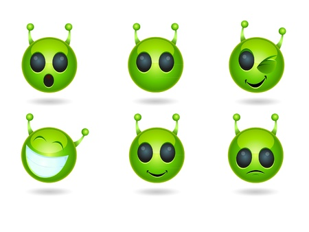 alien head: Alien Face Icons