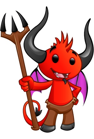 cute Devil. Vector