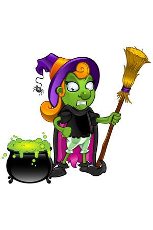 unsure: Witch - Guardare Calderone Incerto