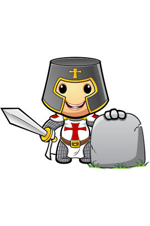 St George Cartoon Ridder