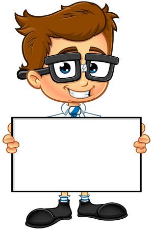 smart boy: Smart Boy Character