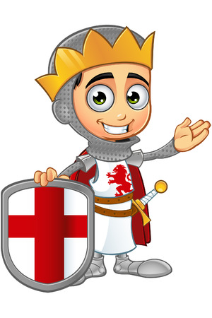 george: St. George Boy King Character