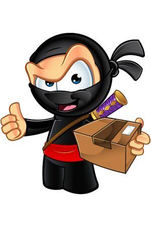 assassin: Sneaky Looking Ninja Character