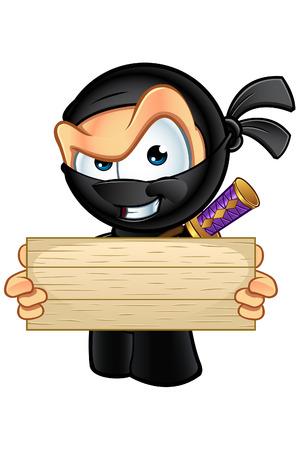 sneaky: Sneaky Looking Ninja Character