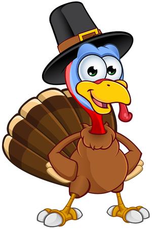 pavo: Acción de gracias Turquía del personaje