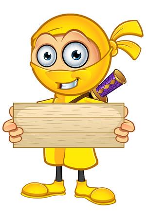 assassin: Yellow Ninja Character