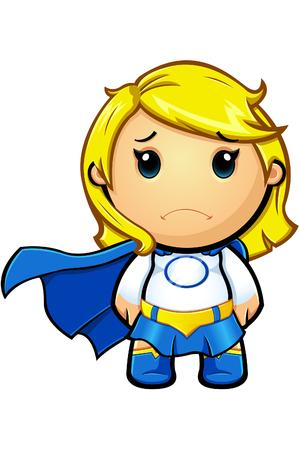 superwoman: Blue And White Super Girl