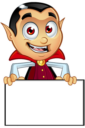 bloodthirsty: Dracula Character Illustration