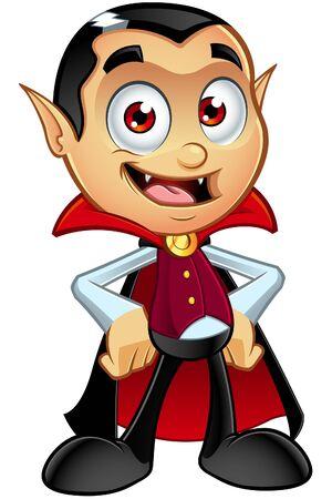 Dracula Character Illustration