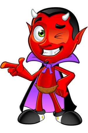 Cartoon Devil Character