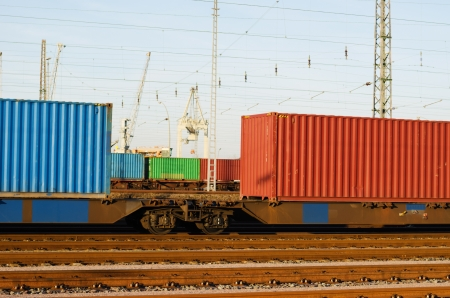 freightliner: Container on freight trains