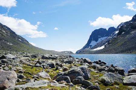 Scenery in Jotunheimen national park, Norway  Stock Photo