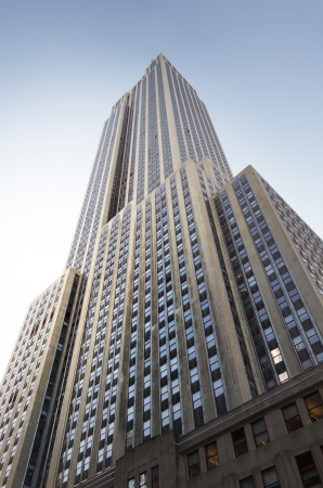 The Empire State Building in New York City  Editorial