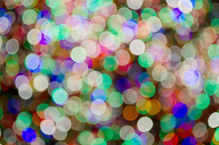 Abstract image of blurred lights