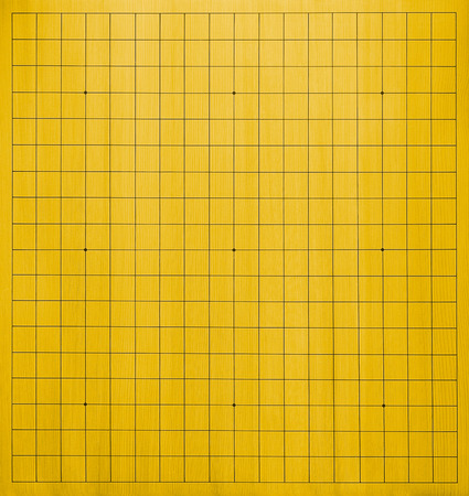 supposed: Top View of an empty go board  Go is a traditional asian board game  It is supposed to be one of the oldest games in the world