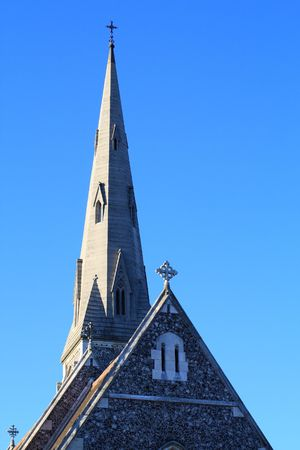 Church in Copenhagen Stock Photo