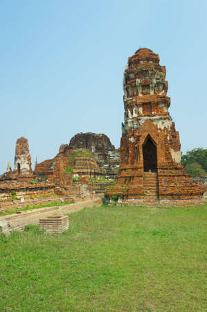 The ruins of an ancient temple Stock Photo - 14038813